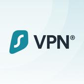 최고의 VPN: Surfshark - 안전한 VPN 앱 아이콘