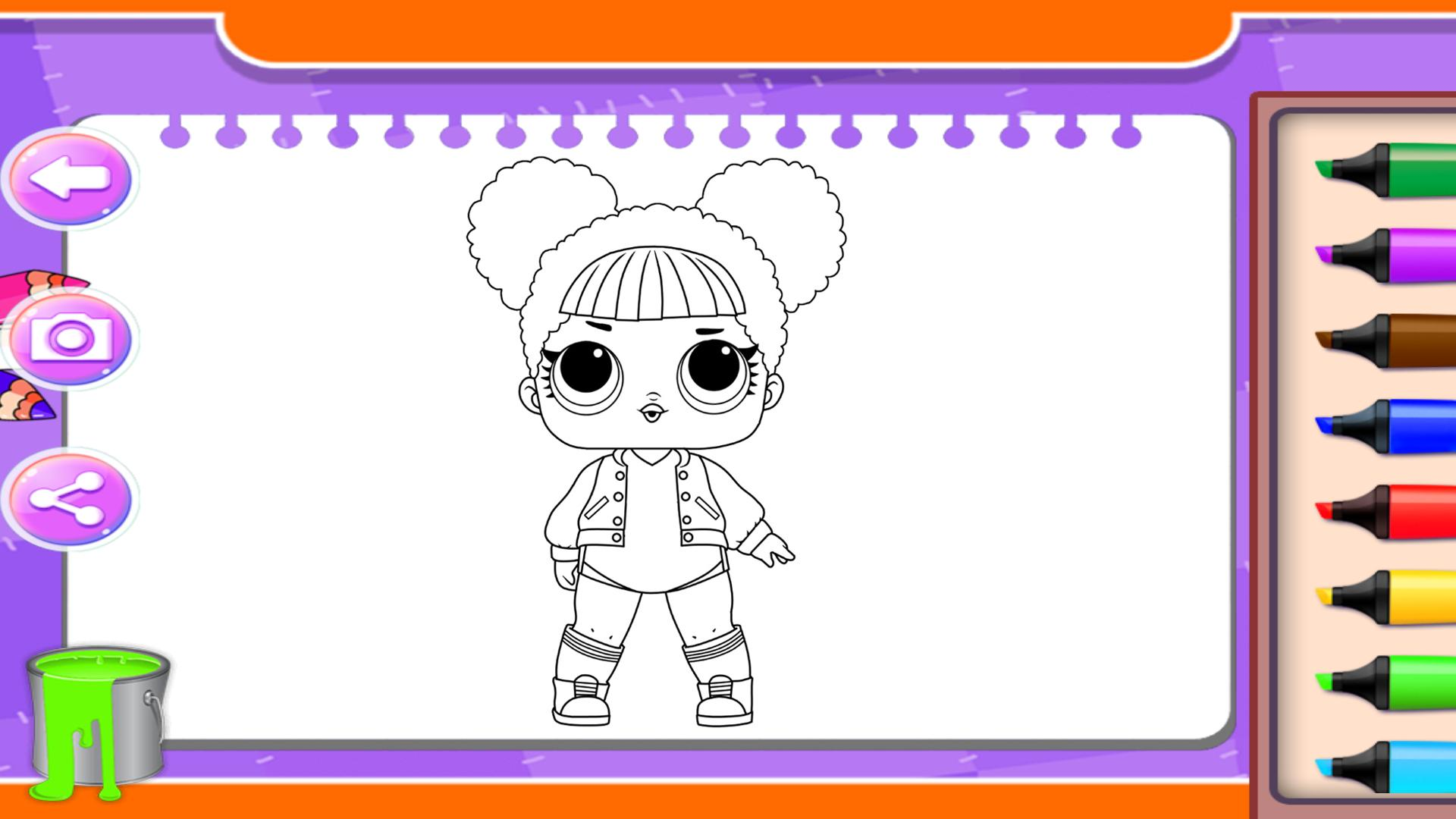 Surprise Coloring Pages Dolls for Android - APK Download