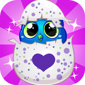 Surprise eggs hatch adventure games icon