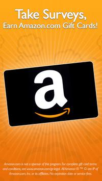 QuickThoughts: Take Surveys Earn Gift Card Rewards poster