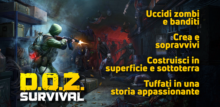 APK Dawn of Zombies: Survival (Sopravvivenza Online)