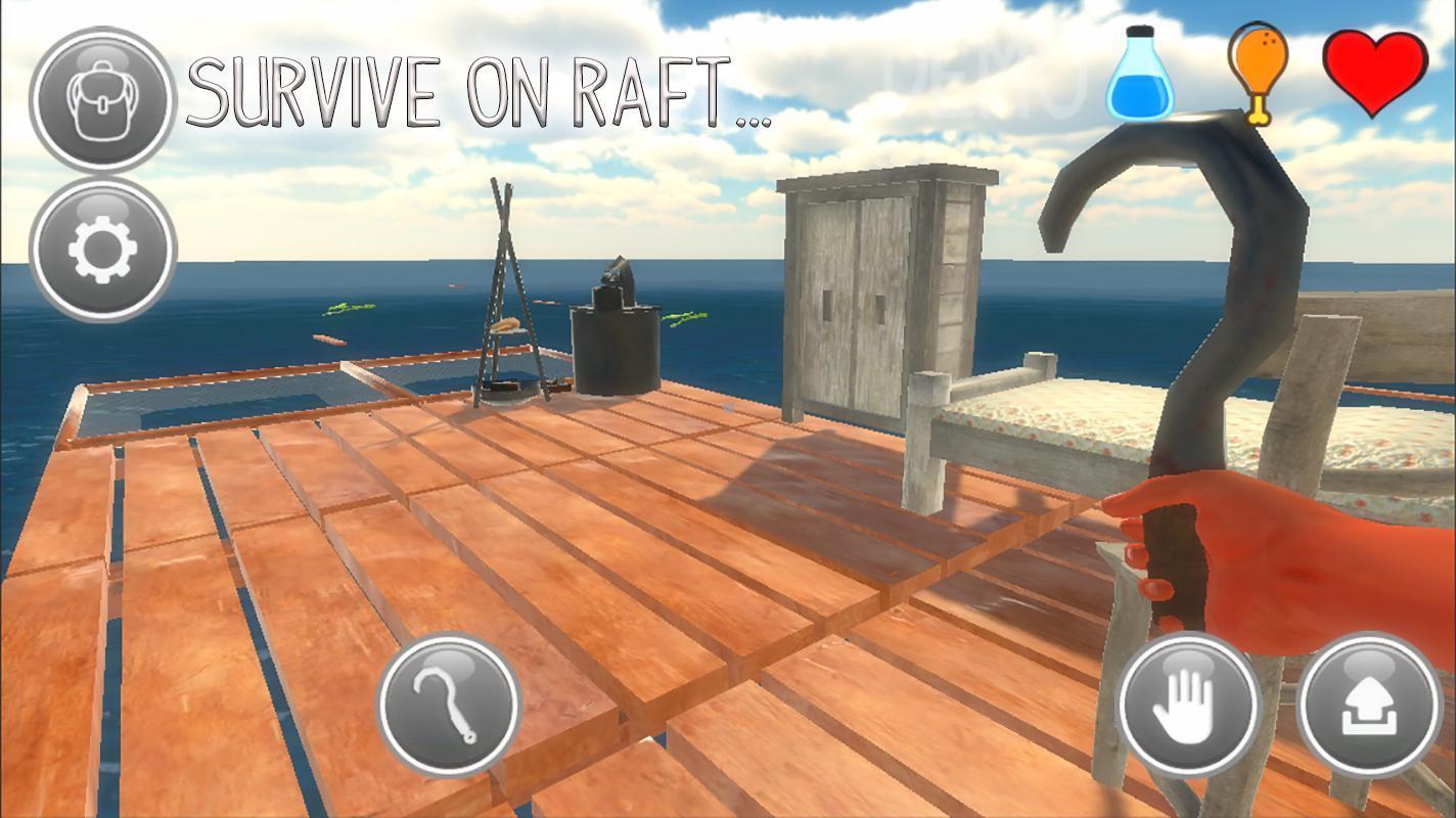 Raft apk free download   Raft Survival: Ultimate (MOD