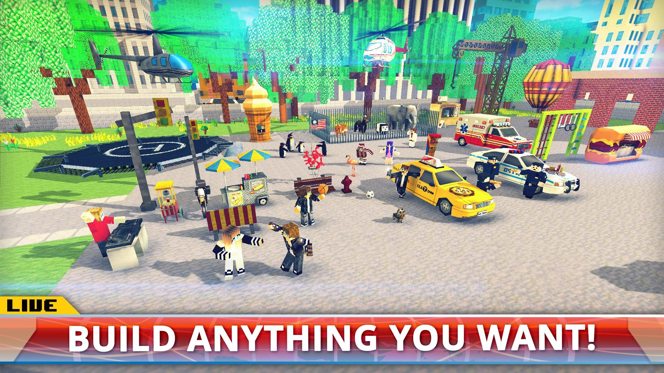 New York City Craft: Blocky NYC Building Game 3D for Android - APK