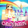 Girls Theme Park Craft: Roller Coaster'ı İnşa Et simgesi