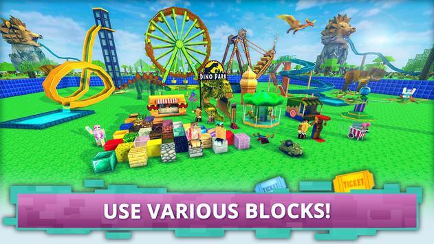 Dino Theme Park Craft imagem de tela 1