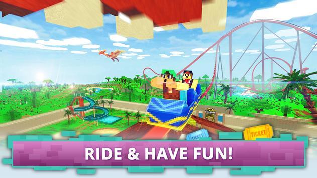 Dino Theme Park Craft imagem de tela 2