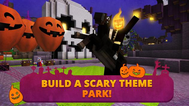 Scary Theme Park Craft poster