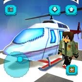 Helicopter Game: Budowanie i latanie helikopterem ikona