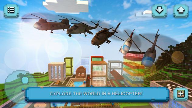 Helicopter Game: Budowanie i latanie helikopterem screenshot 1