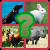 QUIZ NAME THE ANIMALS icon