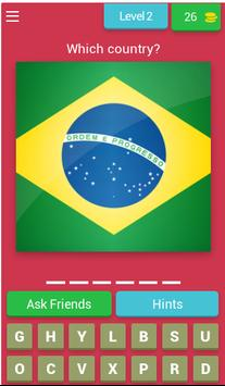 QUIZ WORLD FLAGS screenshot 2
