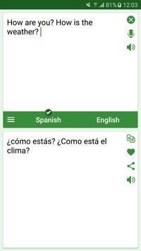 Spanish - English Translator पोस्टर