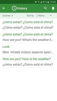 Spanish - English Translator स्क्रीनशॉट 3