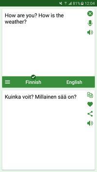 Finnish - English Translator poster