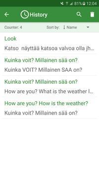 Finnish - English Translator screenshot 3