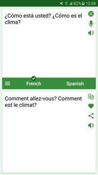 French - Spanish Translator screenshot 1