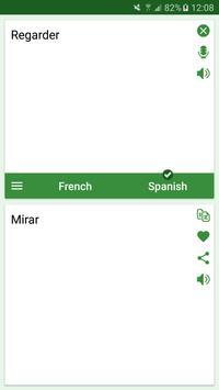 French - Spanish Translator screenshot 2