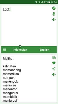 Indonesian - English Translato screenshot 2