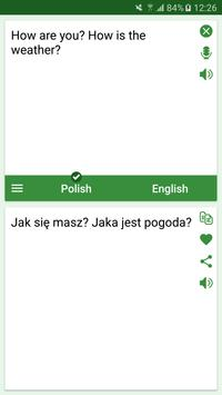 Polish - English Translator poster