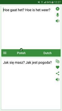 Polish - Dutch Translator screenshot 1