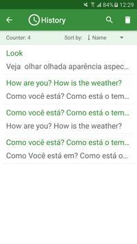 Portuguese - English Translato screenshot 3