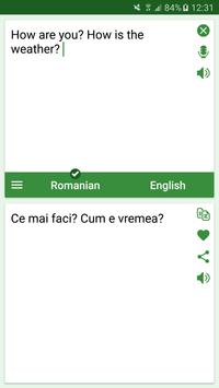 Romanian - English Translator poster