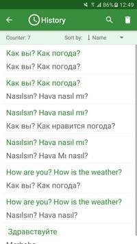 Turkish - Russian Translator imagem de tela 3