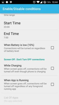 AutoCon - Save Battery & Data screenshot 6