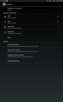 AutoCon - Save Battery & Data screenshot 8