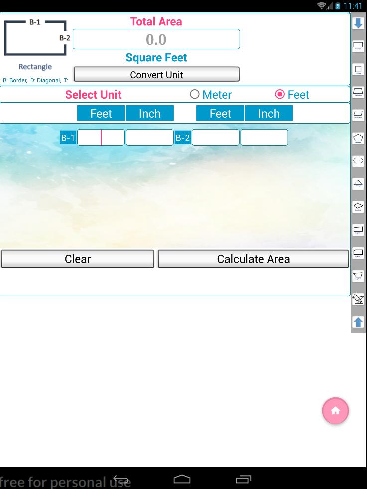Land Area Calculator Unit Convertor Indian Units for Android