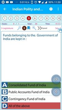 Indian Constitution and Polity 1850 MCQ Quiz screenshot 2