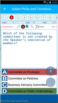 Indian Constitution and Polity 1850 MCQ Quiz screenshot 5