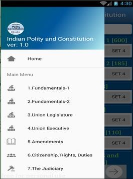 Indian Constitution and Polity 1850 MCQ Quiz screenshot 9