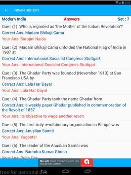 Indian History Quiz AIH MIH MOD 1500 MCQ screenshot 11