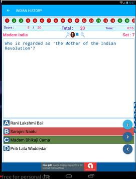 Indian History Quiz AIH MIH MOD 1500 MCQ screenshot 9