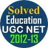 UGC Net Education Solved Paper 2-3 10 papers 12-13 icon