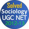 UGC Net Sociology Paper Solved 2-3 आइकन