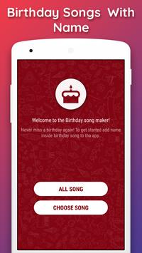 Birthday Songs with Name (Song Maker) poster