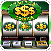 Slot Machine: Free Triple Double Gold Dollars icon