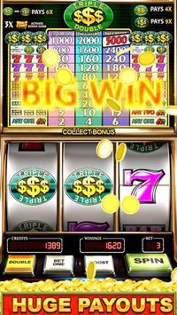 Slot Machine: Free Triple Double Gold Dollars screenshot 2
