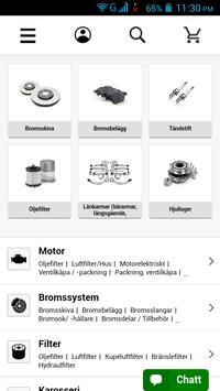 Bildelar Sverige screenshot 16