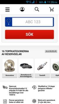 Bildelar Sverige screenshot 1
