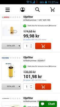 Bildelar Sverige screenshot 2