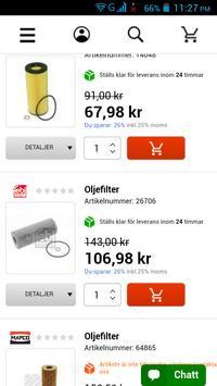 Bildelar Sverige screenshot 3