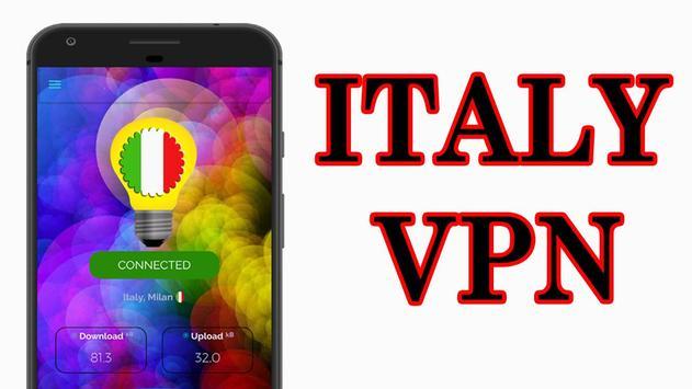 Italy VPN -Free VPN, Fast, Italy VPN Free Proxy poster
