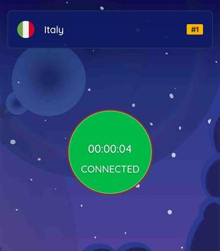 Italy VPN -Free VPN, Fast, Italy VPN Free Proxy screenshot 1