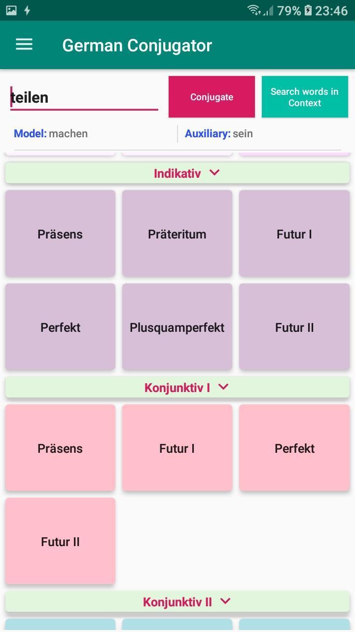 Deutsch sein konjugation Conjugation sein