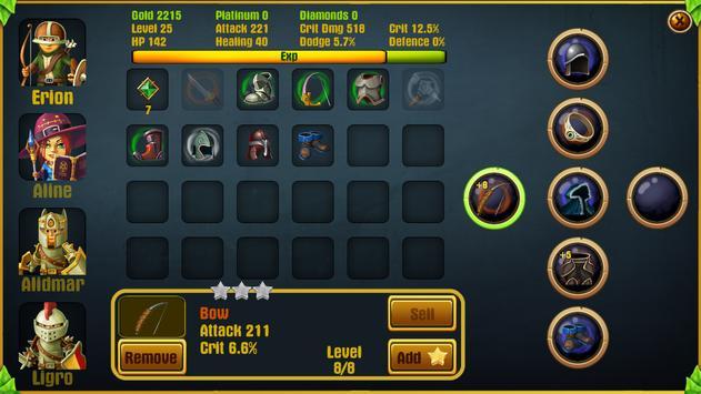13 Schermata Kings Hero 2: Turn Based RPG