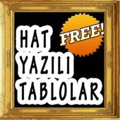 Hat Yazılı Tablolar icon