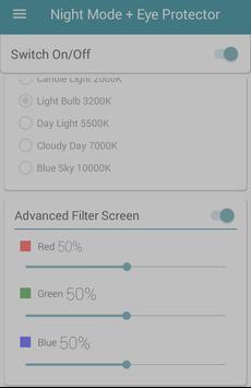 Night Mode + Eye Protector screenshot 4